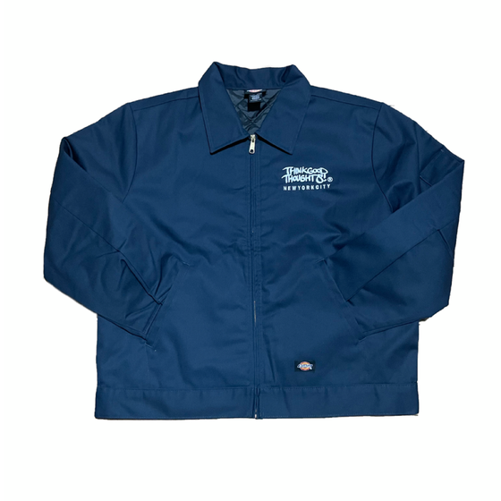 Image of Original Logo Dickies Work Jacket - Navy