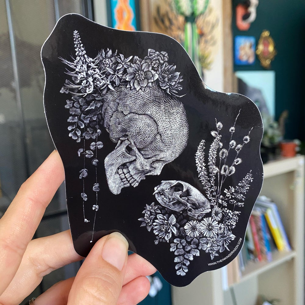 Image of Two Hearts - Sticker