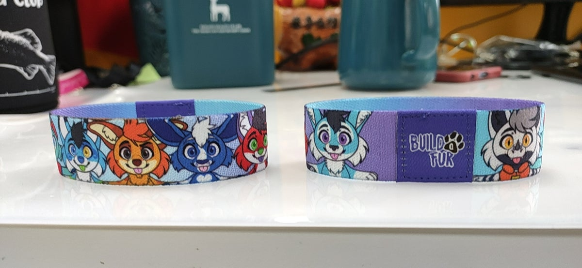 Image of Build A Fur Wristbands