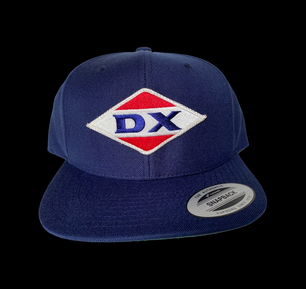 Image of Classic DX patch snapback hat.
