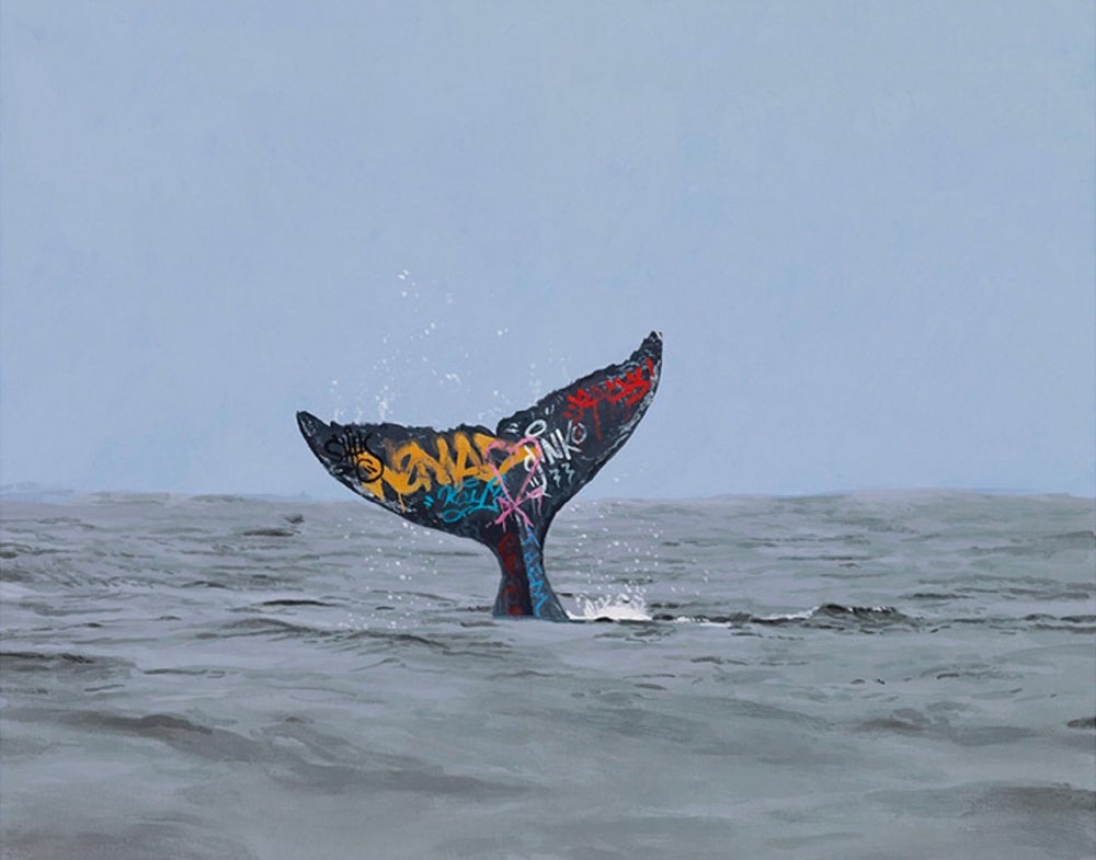 Image of 'Descent' Shipping by Josh Keyes
