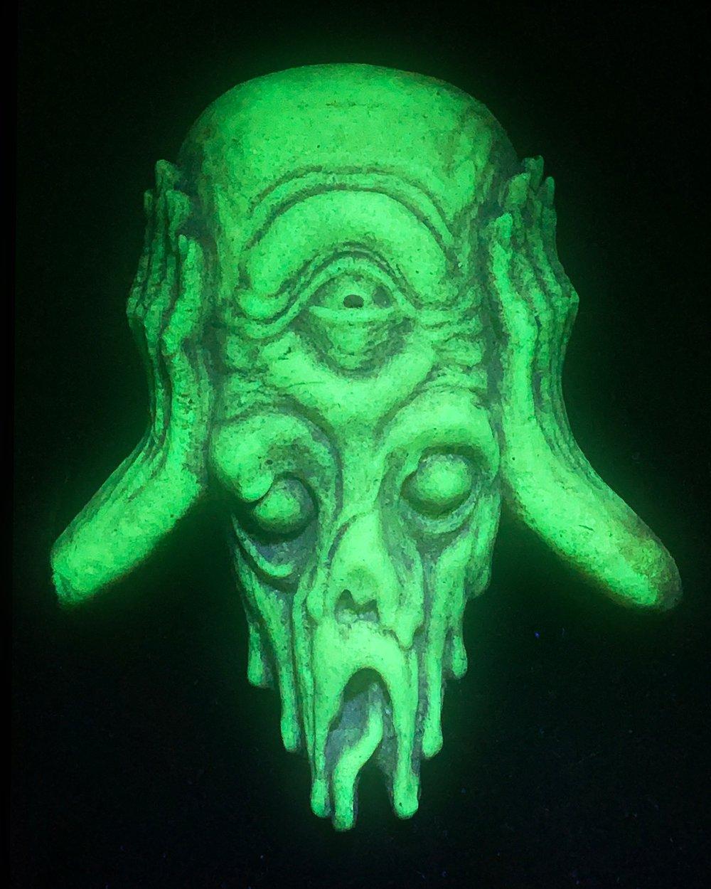 """Melt"" LE Glow in the Dark Frame Corner/Wall Hanger- PRE ORDER"
