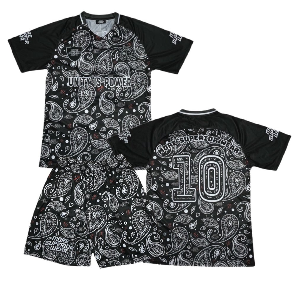 Paisley MSW Football Jersey & Shorts