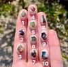 Custom mexican fire opal ring