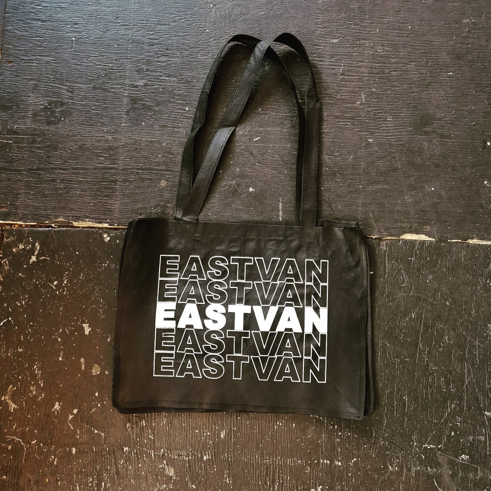 Image of EASTVAN poly tote bag