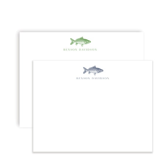 Image of Big Catch Notecards