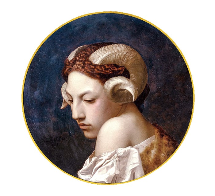 Image of The Bacchante Art History Back Patch