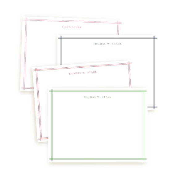 Image of Little Lines Notecards