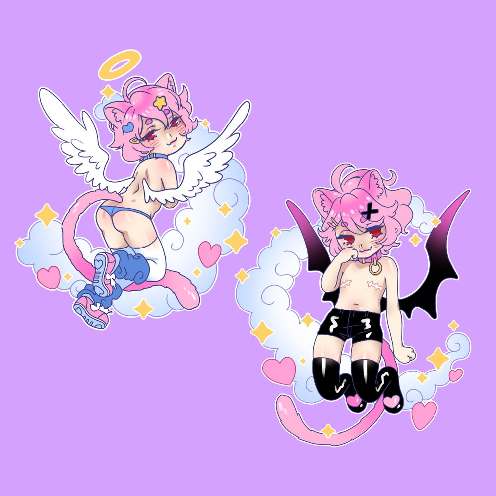 Image of ken (oc) charms