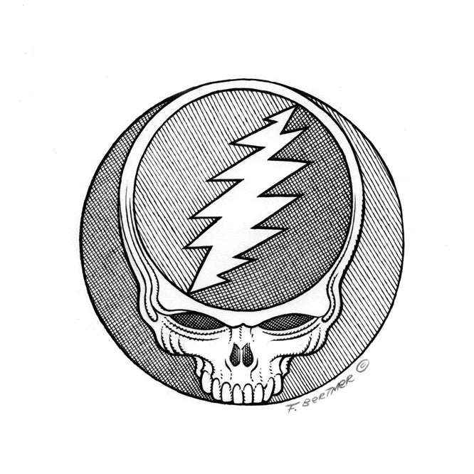 "Image of ""Dead Head"" - Original Artwork"