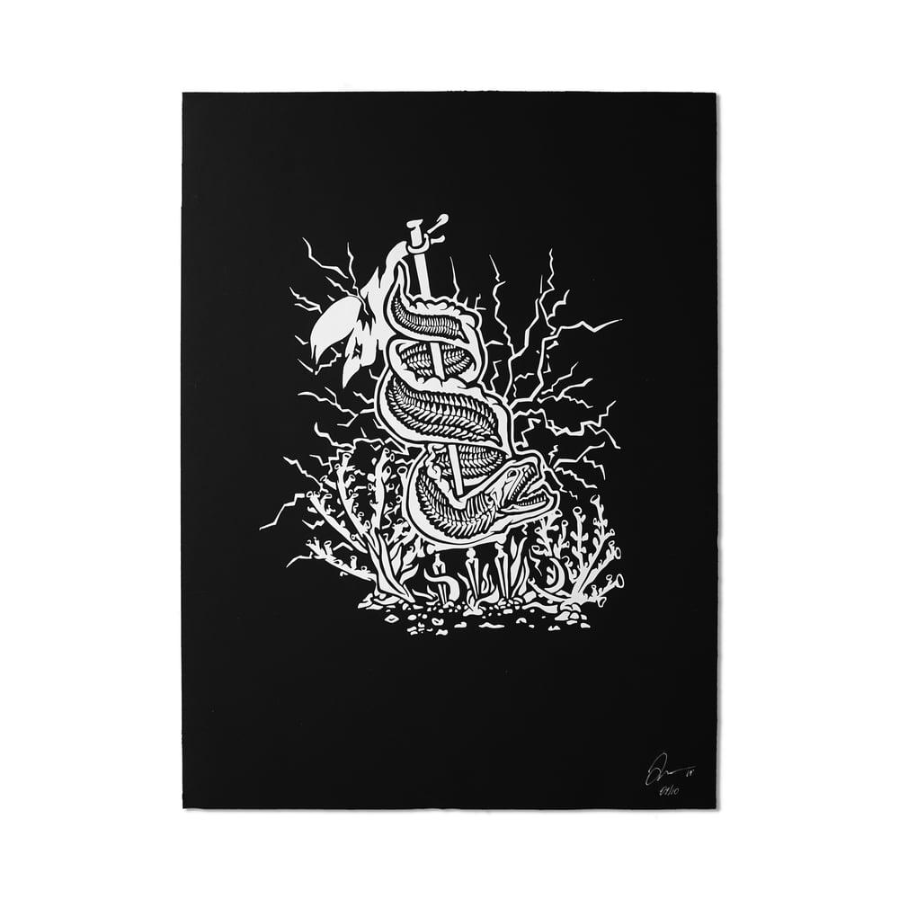 "Image of ""Sea King"" Poster Print"