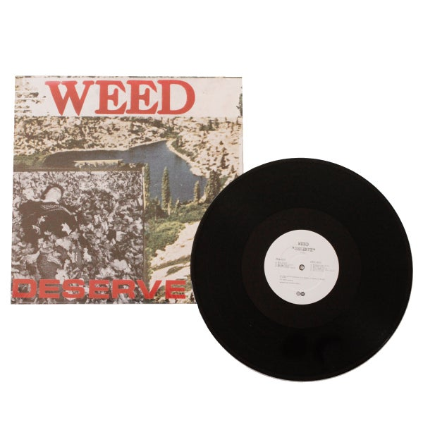 "Image of WEED ""Deserve"" LP"