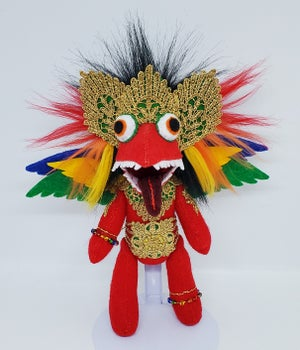 Red Rainbow Garuda