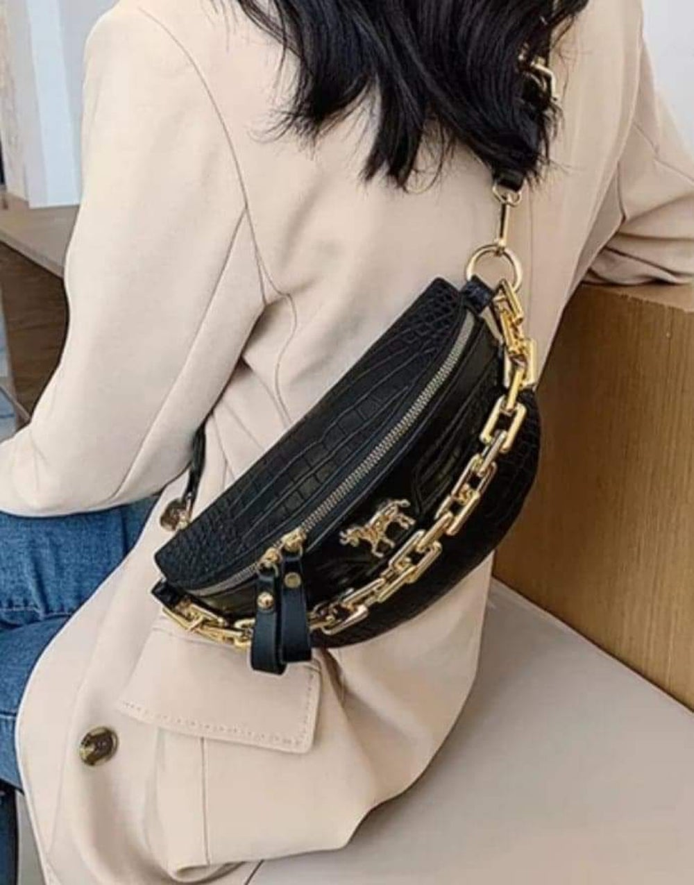 """Image of """"LUCKY"""" CROSS BODY/ FANNY PACK"""