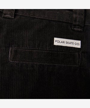 Image of POLAR_GRUND CHINOS (CORDUROY) :::BROWN:::