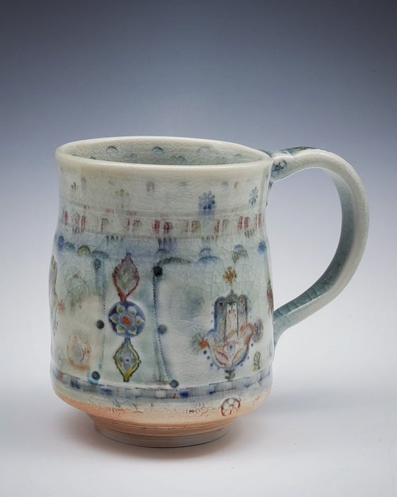 Image of Hamsa Woodfired Mug