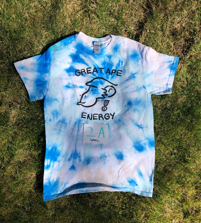 Image of Great Ape Energy Tie-Dye T-Shirt (Set 2)