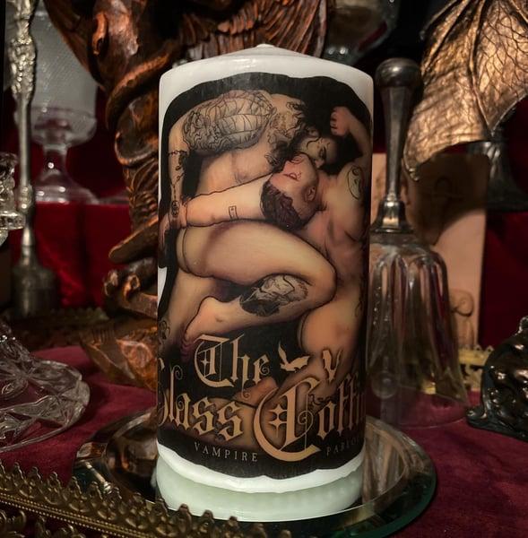 Image of TGC Bitten Pillar Candle