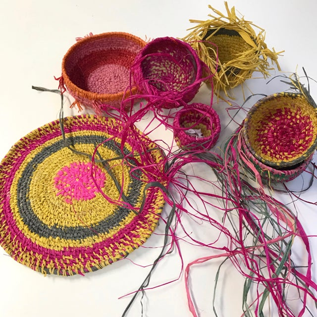 Image of Coil Weaving with Judith Macrae Saturday May 29th 1-4pm