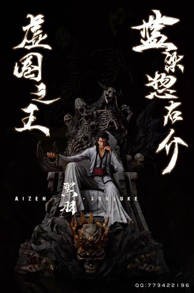 Image of [In-Stock]Bleach BlackWing Studio Aizen 1:6 Resin Statue