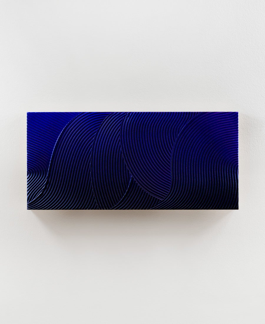 Image of Relief · Blue Waves No. 3