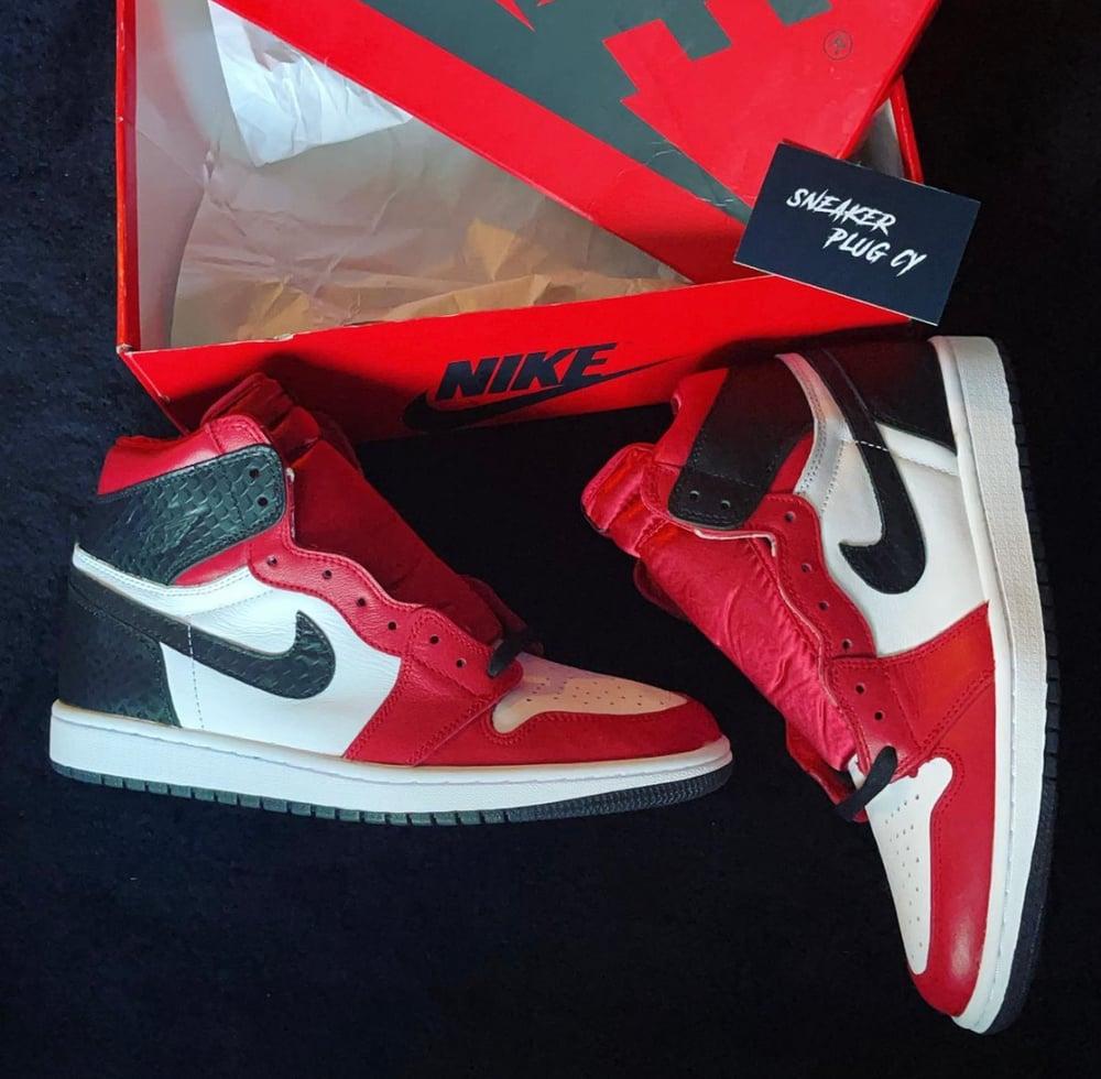 "Air Jordan 1 High ""Satin Red"""