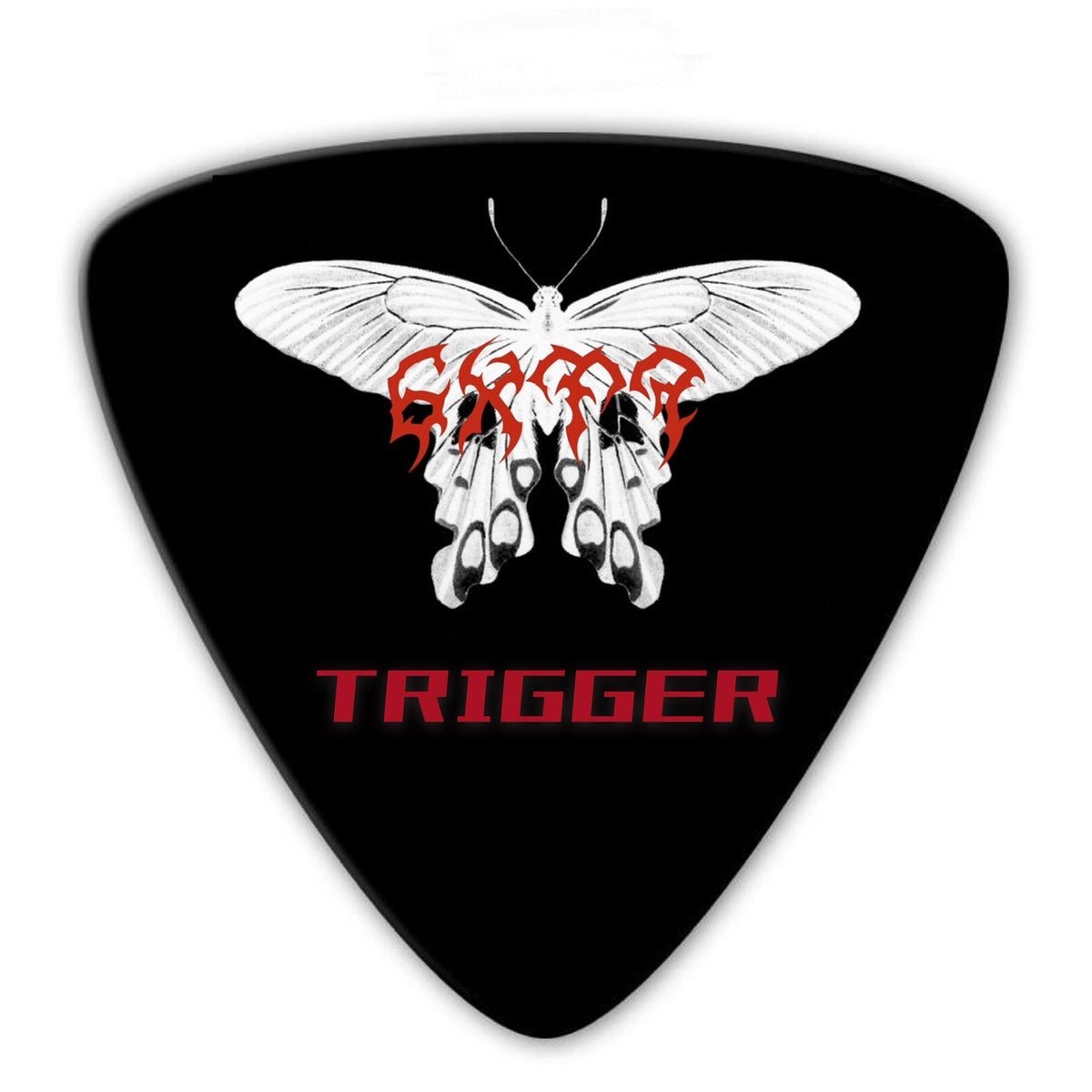 Image of 6XT7 TRIGGER PICK NECKLACE