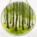 Woodland Seasons Glass Hanging