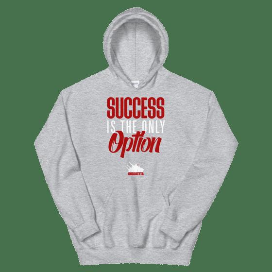 Image of SUCCESS GREY HOODIE