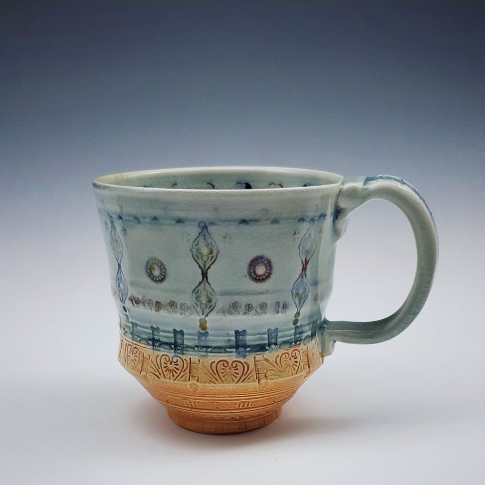 Image of Dusk Woodfired  Porcelain Mug