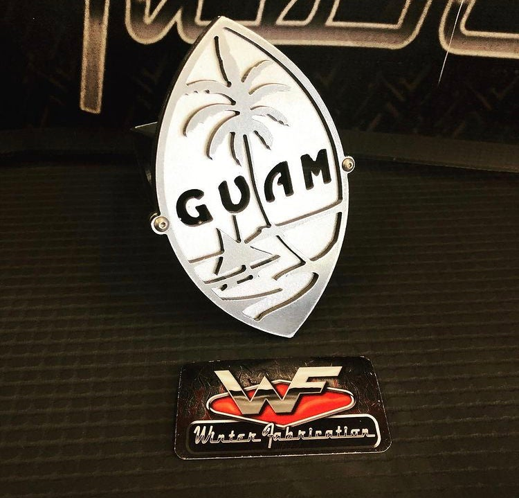 Image of Seal of Guam - Two Layer Hitch Cover