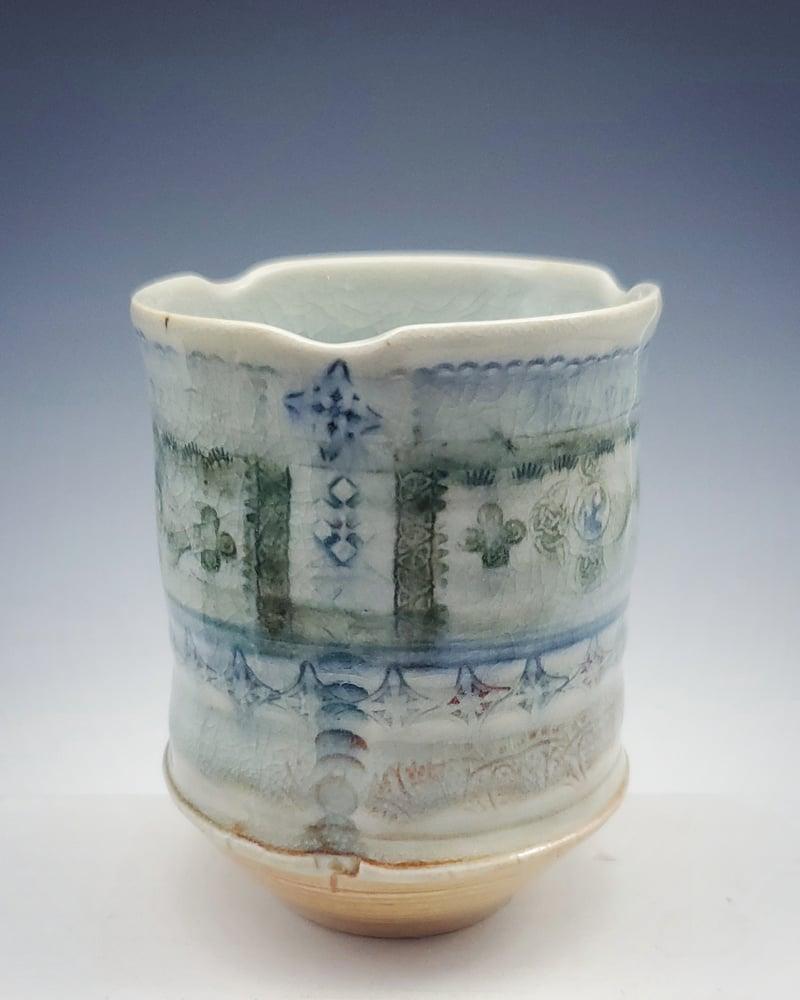 Image of Powder Celeste Tea Tumbler