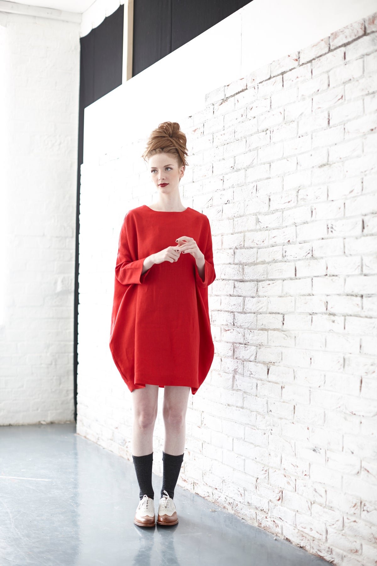 Image of Original Wide Cocoon Tunic Dress