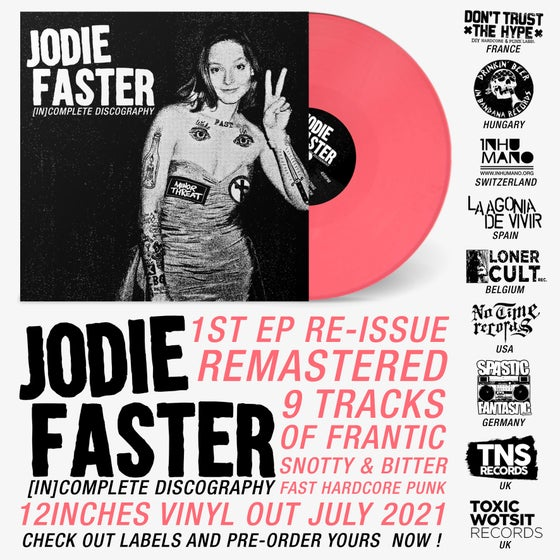 "Image of PRE-ORDER NOW! LADV162 - JODIE FASTER ""(in)complete discography"" 12"""
