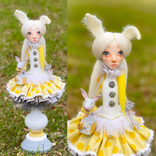 Image of Custom Art Doll - Reserved for Leah.