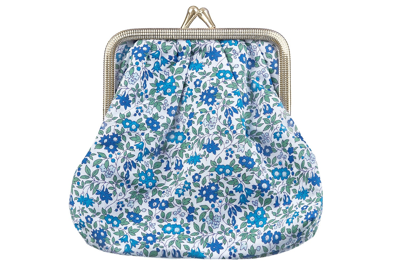 Image of Big coin purse * Chamomile * Blue
