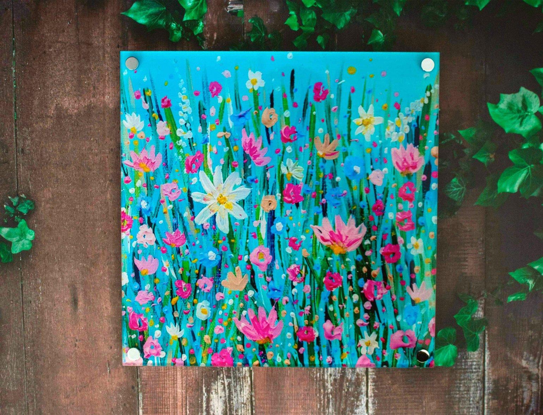 Image of Spring Has Sprung Acrylic Wall Art