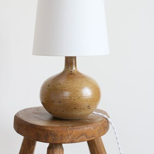 Image of Grande lampe en grès