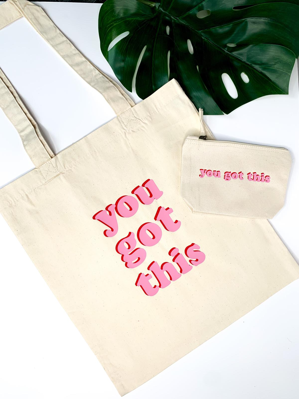 Image of You Got This - Wash bags