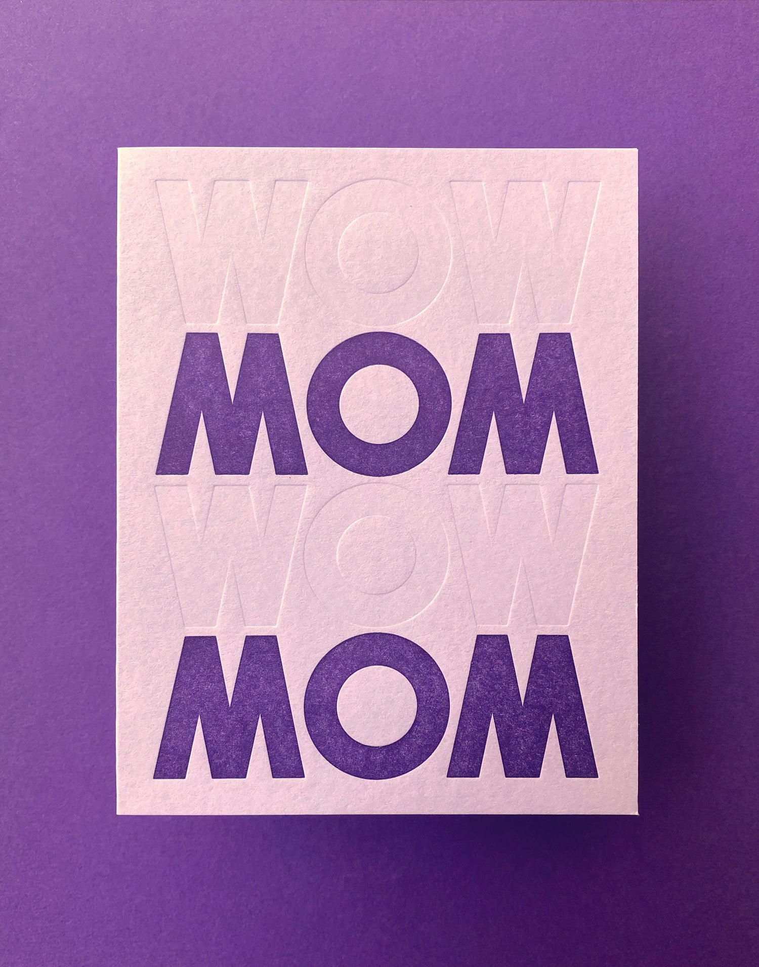 Image of Mother's Day - WOW MOM
