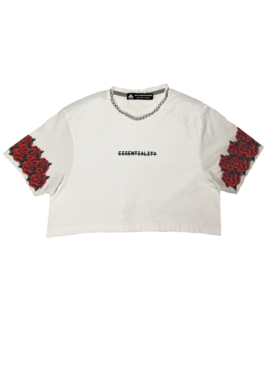 Image of CROPPED TEE