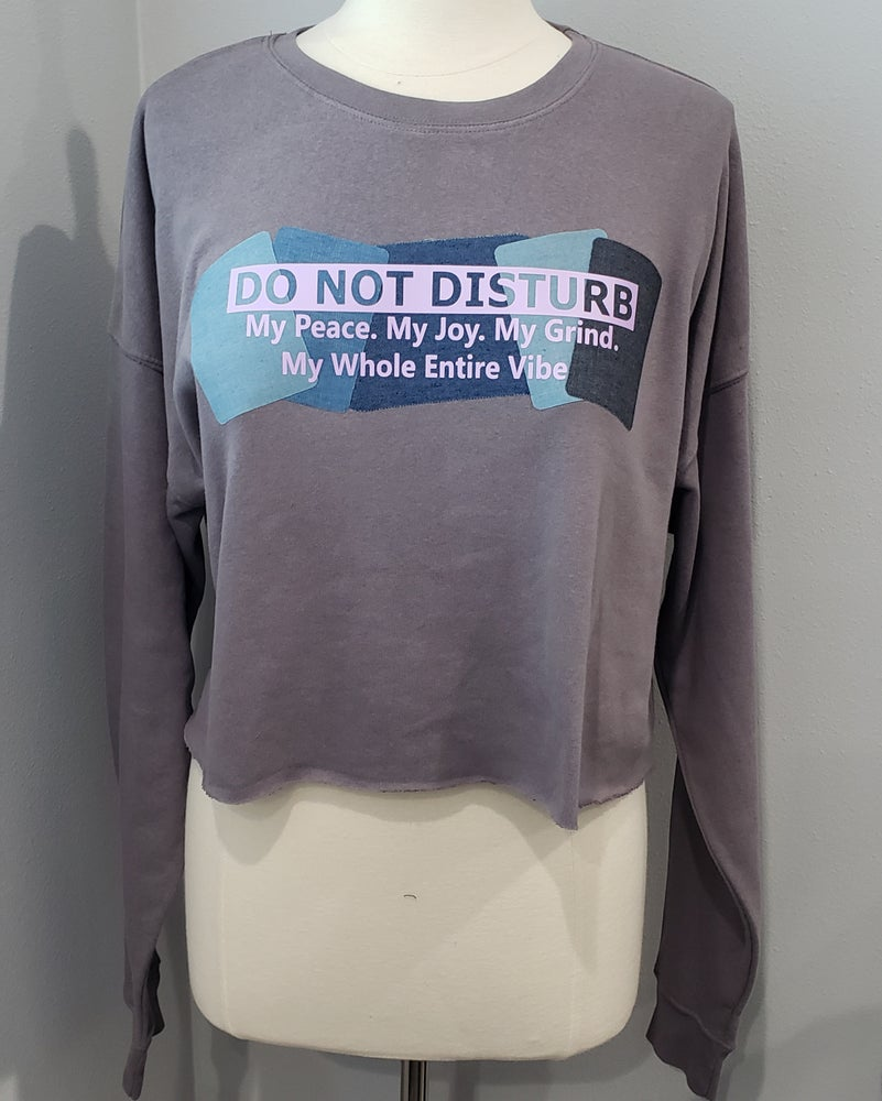 Image of Do Not Disturb Cropped Top