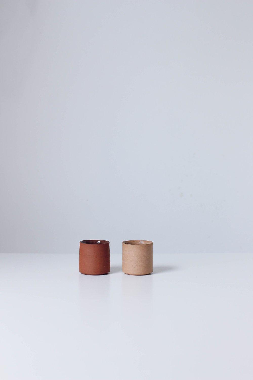 Image of Pair of mezcal / espresso cups #2