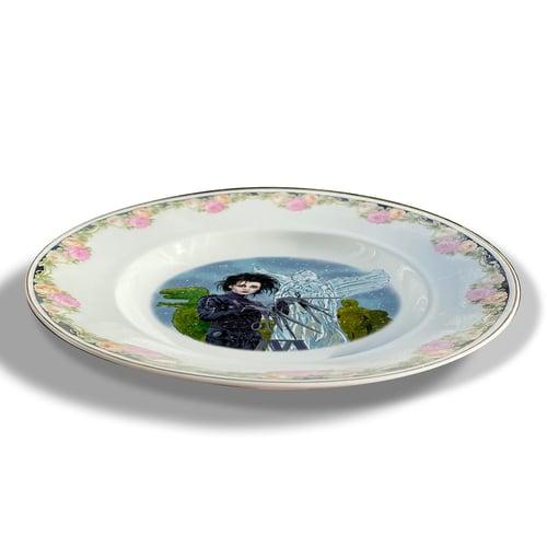 Image of Edward Scissorhands - Vintage Limoges porcelain Plate - #0758