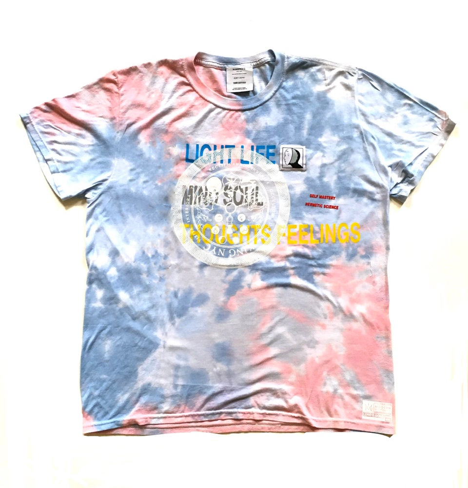 Image of KingNYC LLMSTF Tie Dye T-Shirt