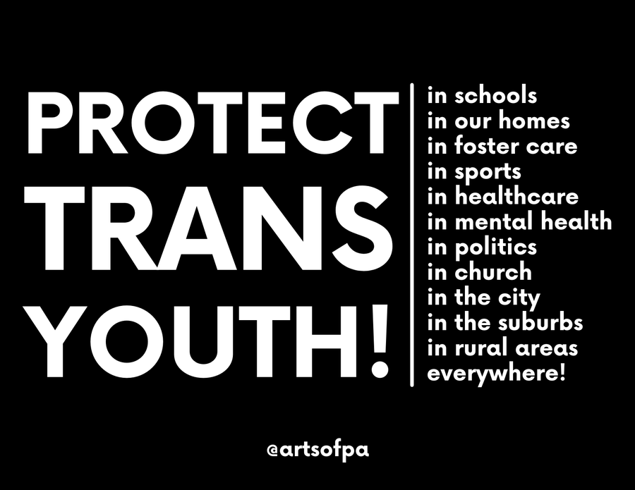Image of Protect Trans Youth - Postcard