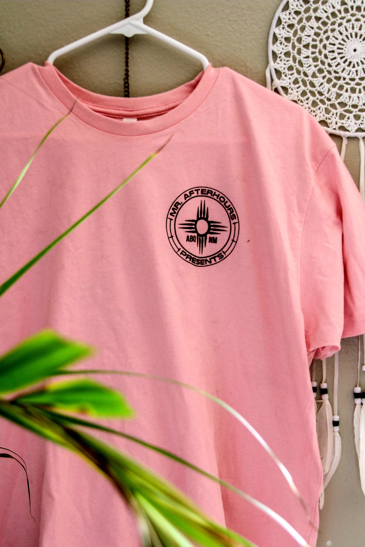 Black on Pink Mr Afterhours