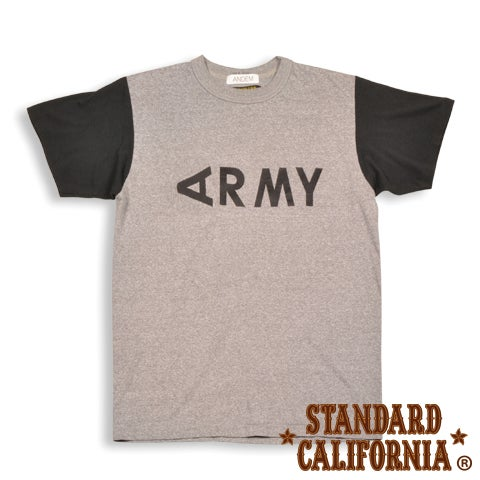 Image of ANDEM x SD ARMY BLACK SLEEVE -T