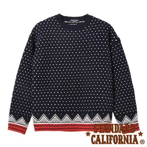 Image of SD Bird's Eye Nordic Sweater