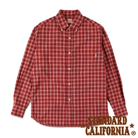 Image of SD Seersucker Check Button-Down Shirt